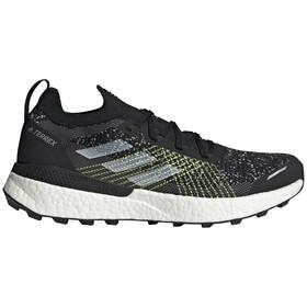 adidas TERREX Two Ultra Parley Trail Running Shoes Men, zwart/grijs